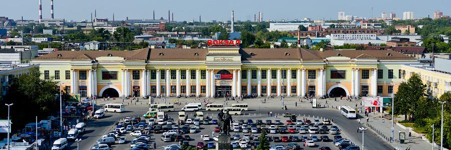 Реклама на жд вокзале в Екатеринбурге_Интермедиа Групп