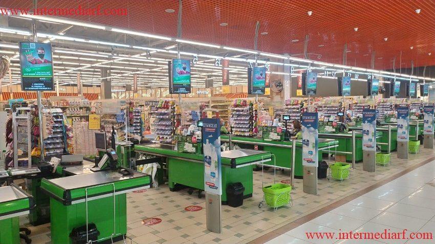 2.супермаркет Яблоко- Вакуленчука 29